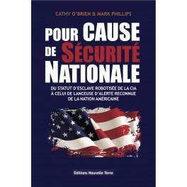 POUR CAUSE DE SÉCURITÉ NATIONALE